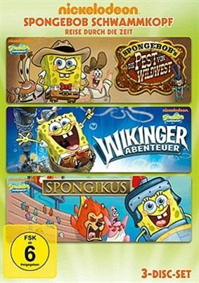 DVD »SpongeBob Schwammkopf - Reise durch die Zeit...«
