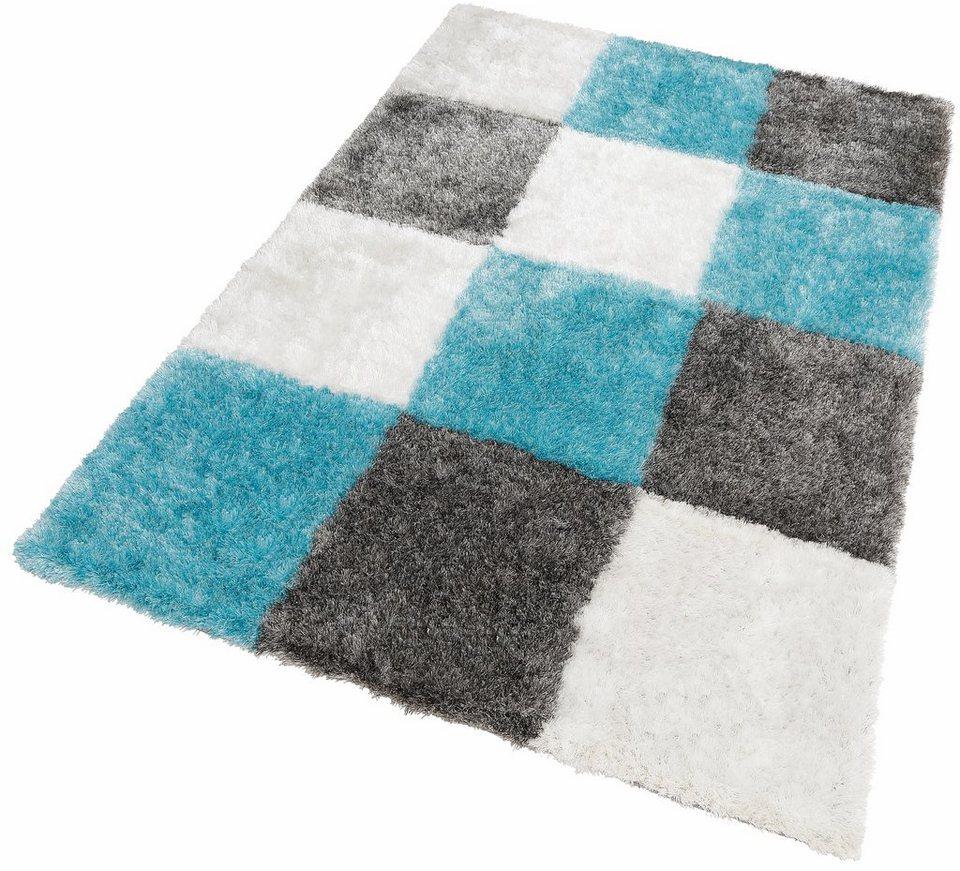 Hochflor-Teppich »Diamond 752«, Kayoom, rechteckig, Höhe 50 mm ...