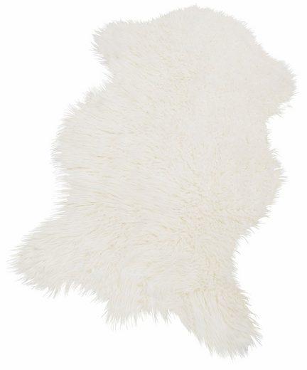Fellteppich »Pireo«, KiNZLER, fellförmig, Höhe 70 mm, synthetischer Flokati, Wohnzimmer