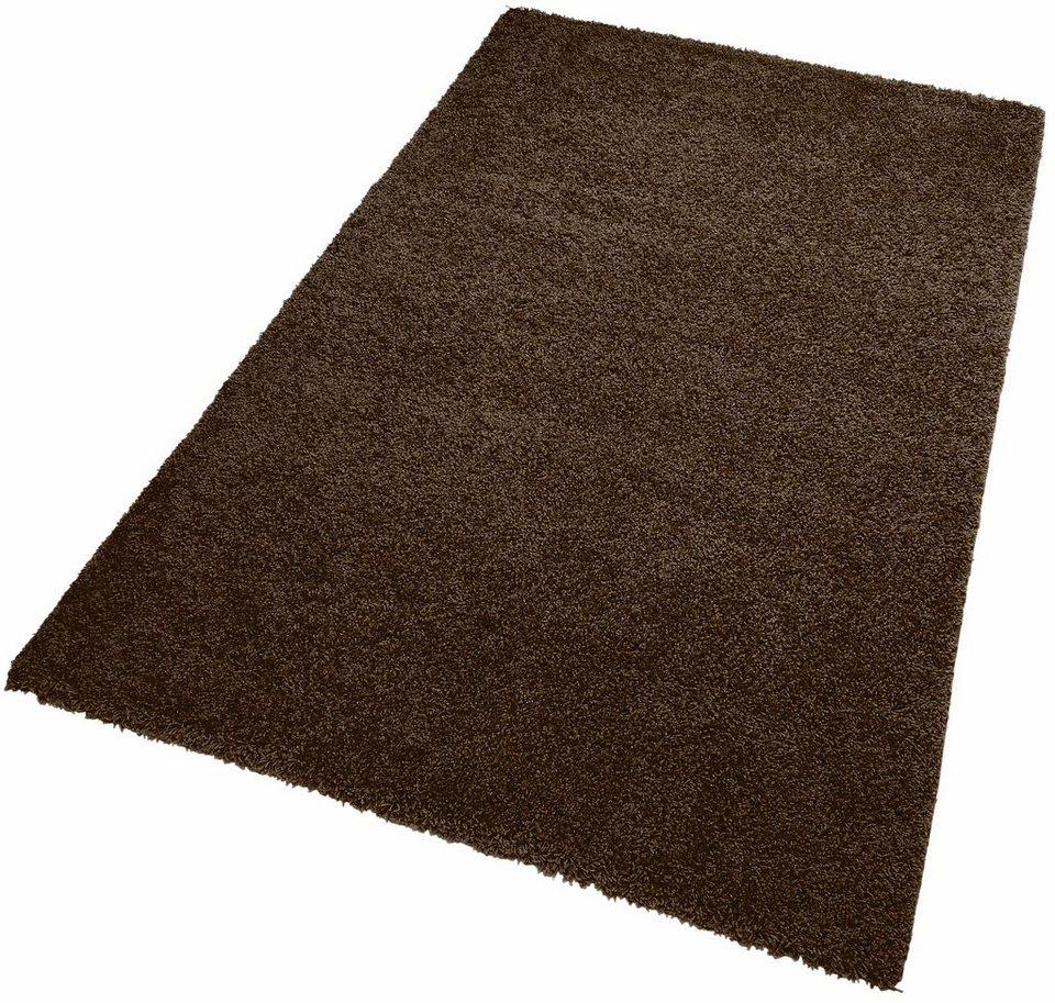 Hochflor Teppich Kayoom Comfy 100 H U00f6he Ca 35mm Gewebt Online Wohnzimmer