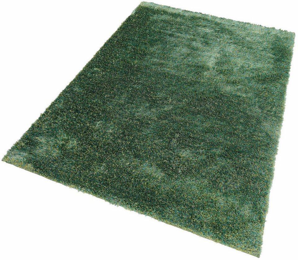 Teppich 200x200  Hochflor-Teppich, Esprit, »New Glamour«, Höhe ca. 40 mm, getuftet ...
