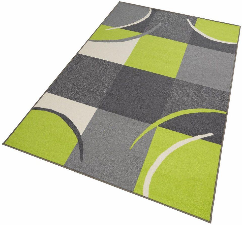 Teppich, Theko, »Marco«, 6 mm, maschinell getuftet in grün