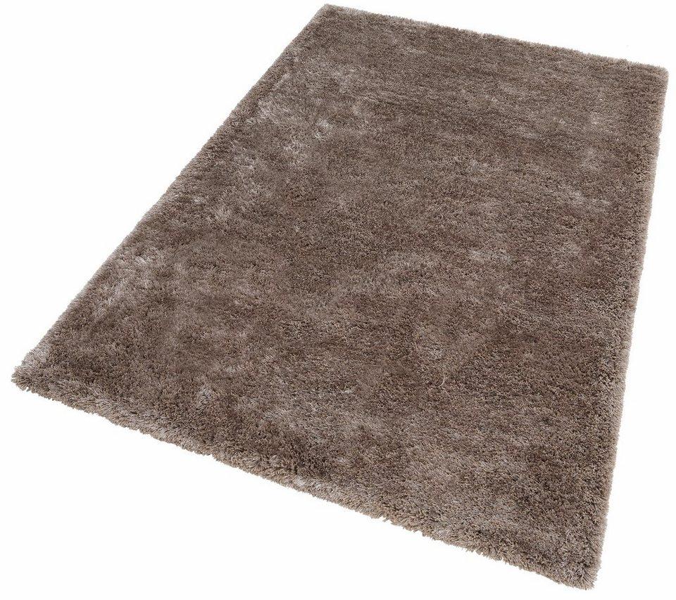 hochflor teppich monaco lalee rechteckig h he 45 mm online kaufen otto. Black Bedroom Furniture Sets. Home Design Ideas