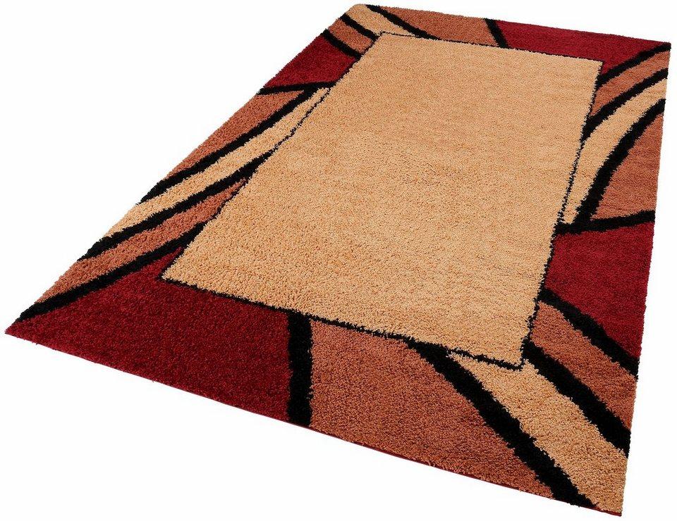 Hochflor-Teppich, my home, »Heide«, Höhe 30mm, gewebt in terra