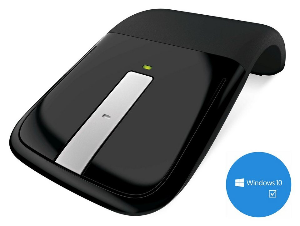 microsoft desktop maus arc touch mouse usb black otto