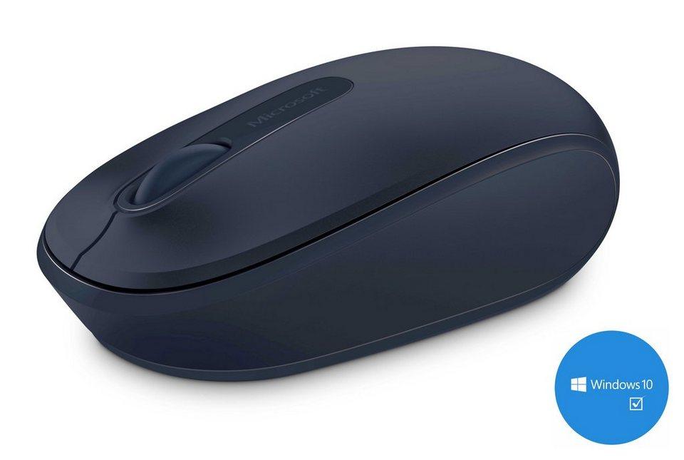 Microsoft Mobile Maus »Wireless Mobile Mouse 1850 blau« in blau