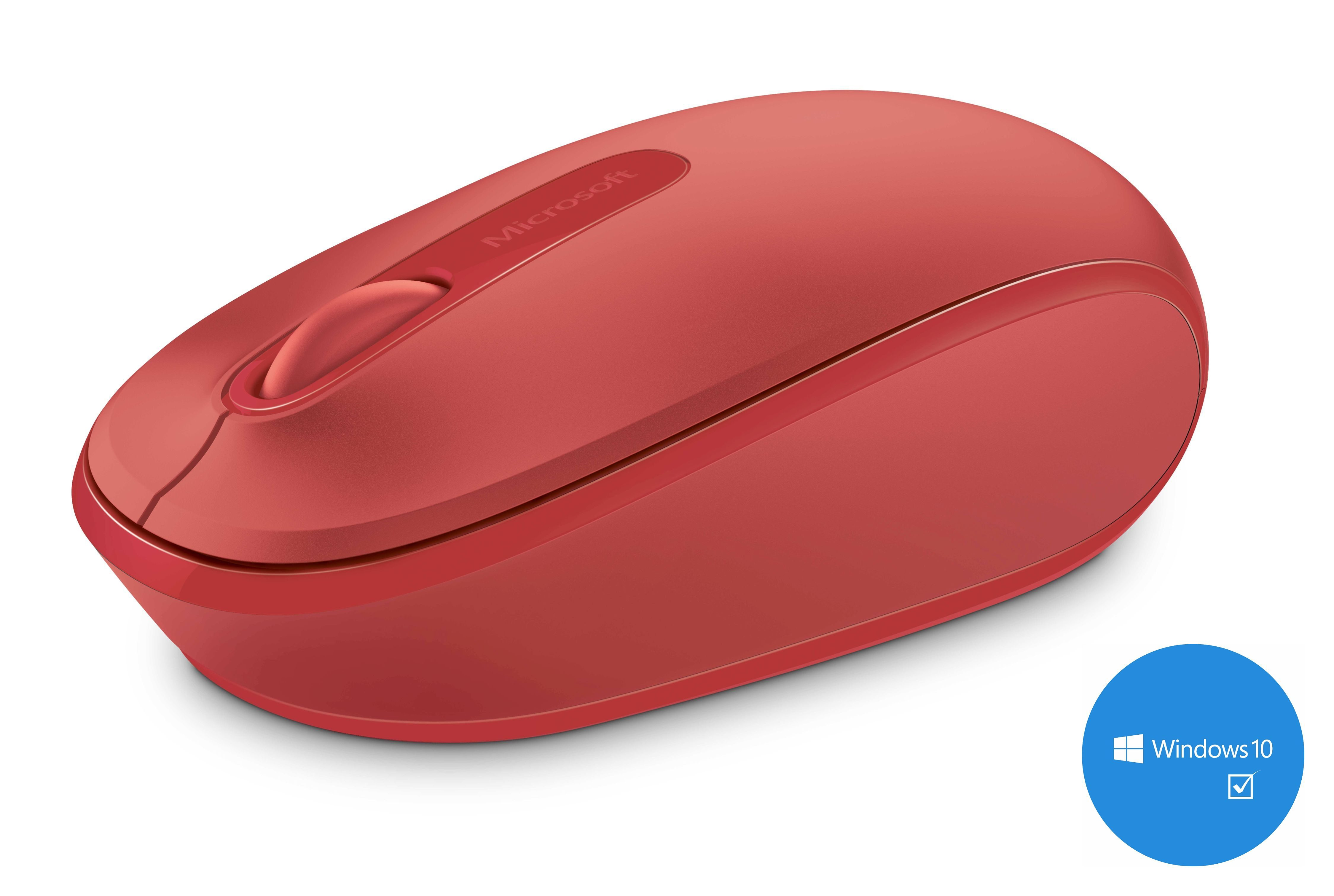 Microsoft Mobile Maus »Wireless Mobile Mouse 1850 rot«