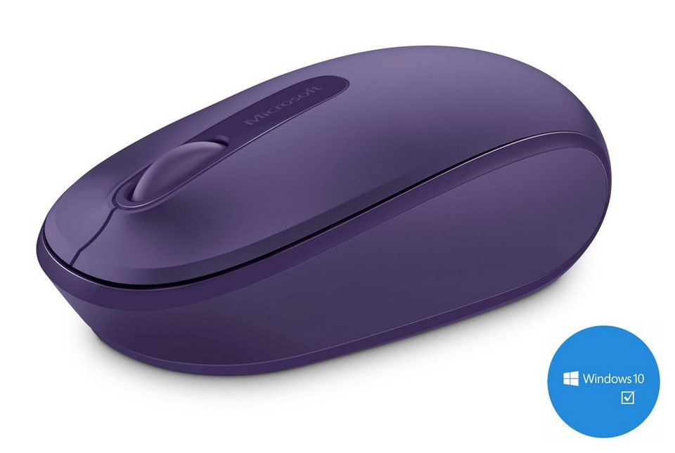 Microsoft Mobile Maus »Wireless Mobile Mouse 1850 purple« in lila