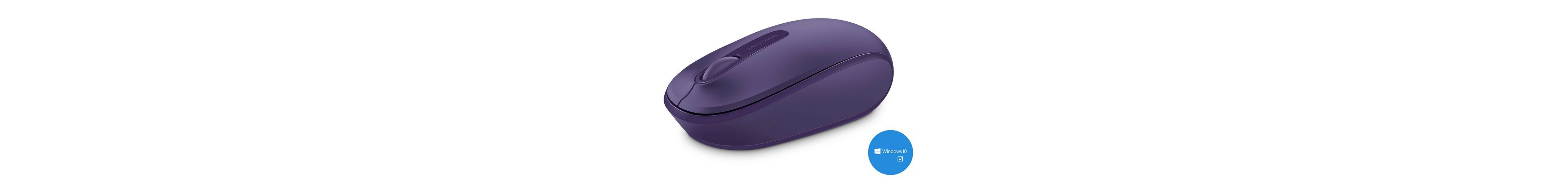Microsoft Mobile Maus »Wireless Mobile Mouse 1850 purple«