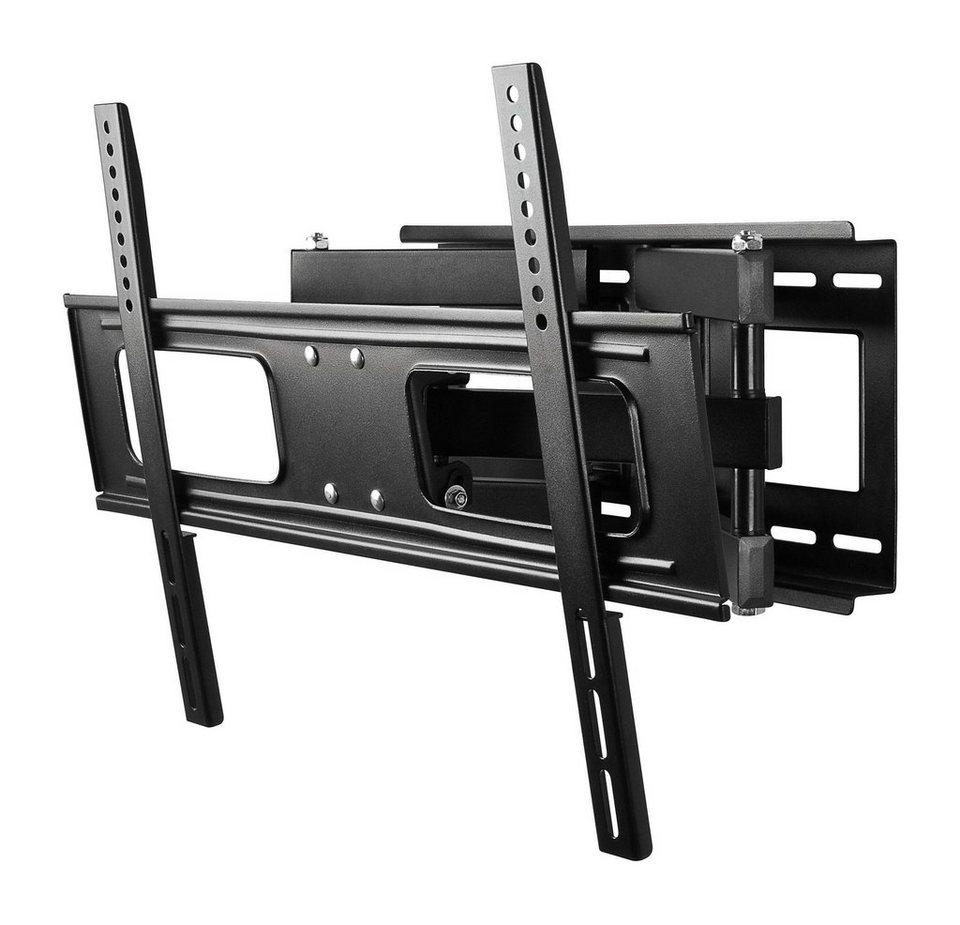 """goobay Doppelflügel-Wandhalter für TVs bis 178 cm (70"""") »TV EasyFold XL« in schwarz"""