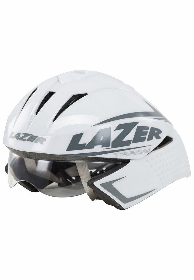 Lazer Fahrradhelm »Tardiz Helm weiß« in weiß