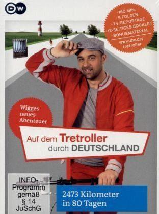 DVD »Auf dem Tretroller durch Deutschland«