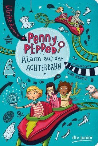 Broschiertes Buch »Alarm auf der Achterbahn / Penny Pepper Bd.2«