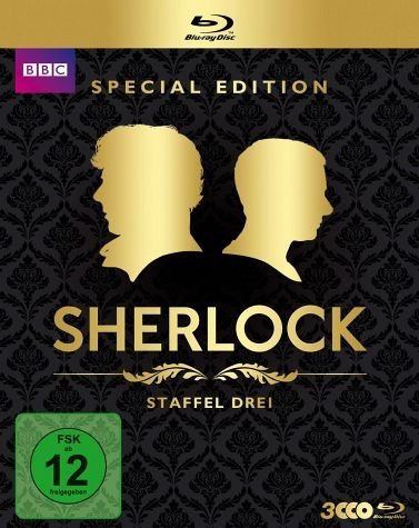 Blu-ray »Sherlock - Staffel 3 (Special Edition, 3 Discs)«