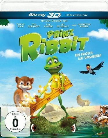 Blu-ray »Prinz Ribbit - Ein Frosch auf Umwegen!...«