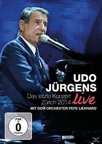 DVD »Das letzte Konzert Live - Zürich 2014 (DVD)«
