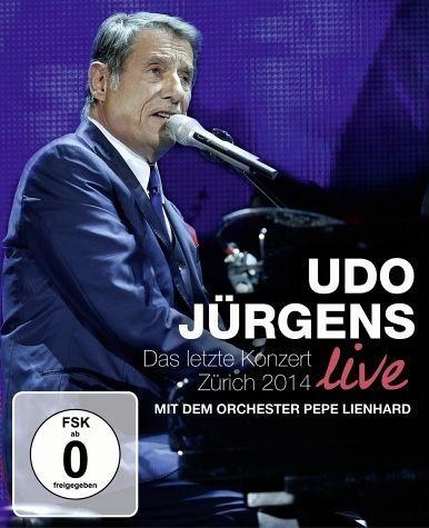 Blu-ray »Das letzte Konzert Live - Zürich 2014 (Blu-ray)«