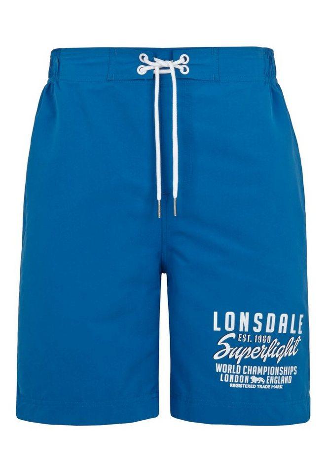 Lonsdale Short »BIDEFORD« in Deep Blue
