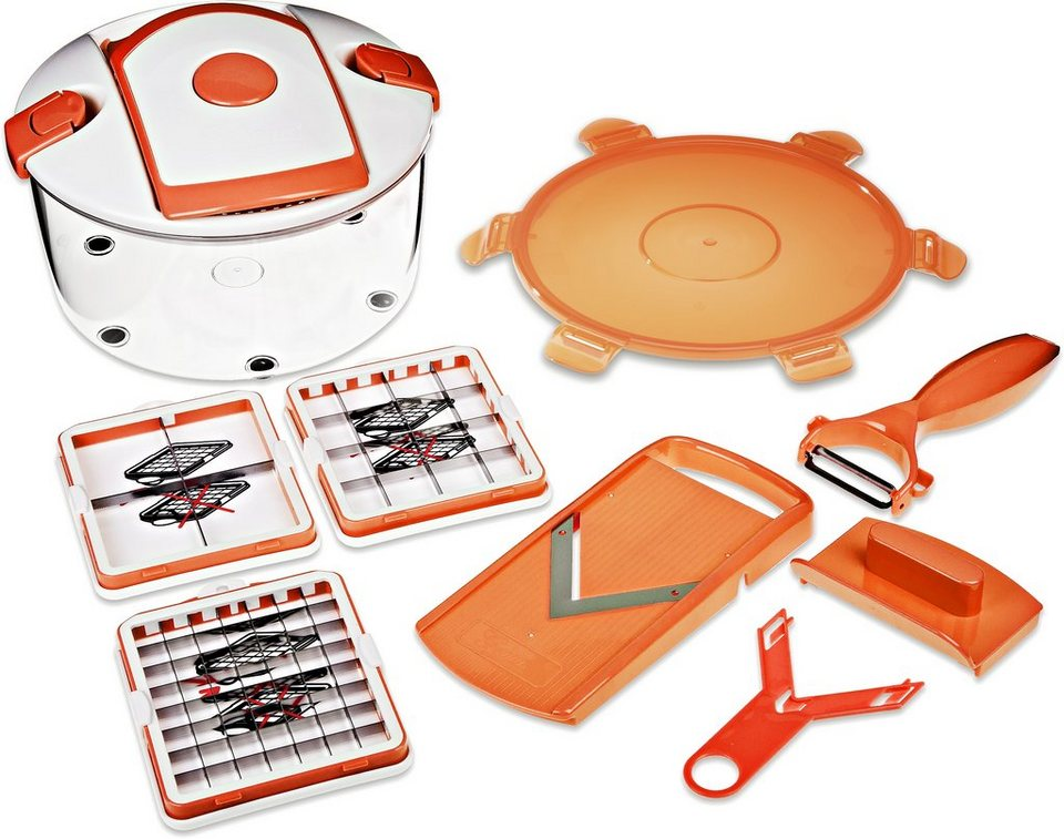 Salat Chef Smart, Genius® (8tlg.) in orange