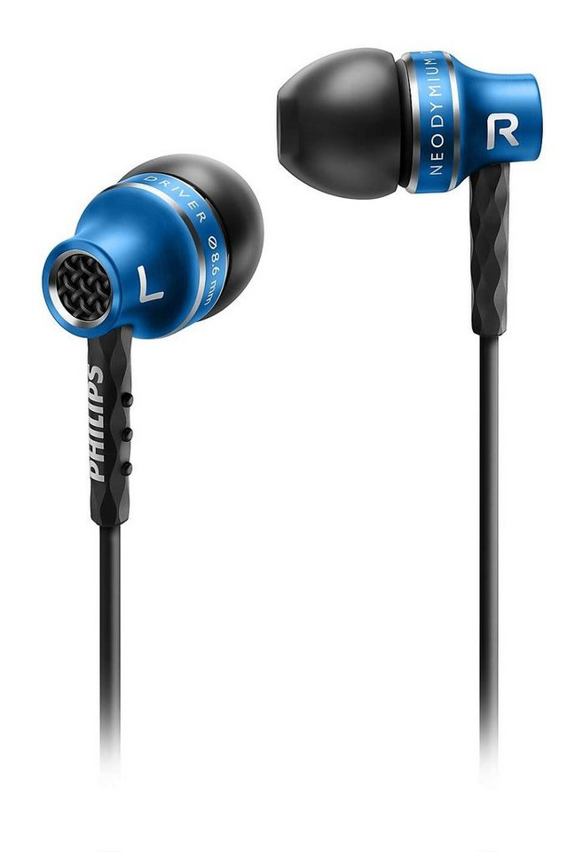 Philips In Ear Kopfhörer »SHE9100/00« in blau