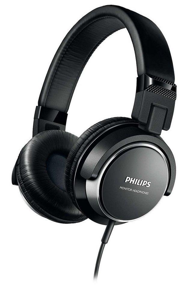 Philips On Ear Kopfhörer »SHL3260/00« in schwarz / silber