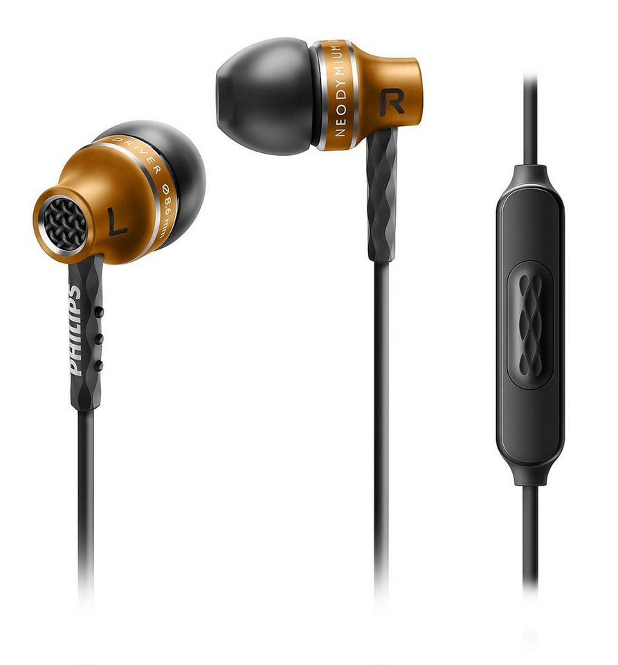 Philips In Ear Kopfhörer »SHE9105/00« in kupfer