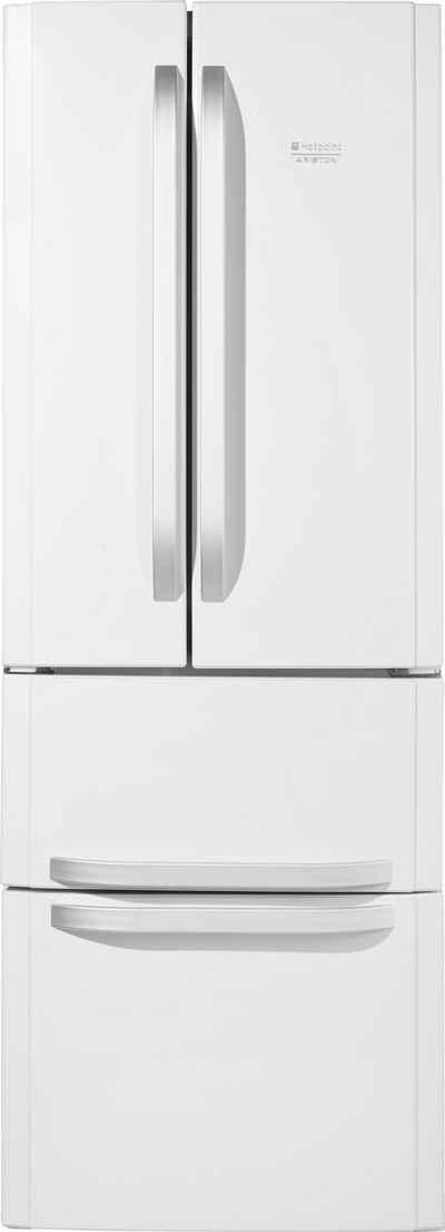 Hotpoint French Door Kühlschrank E4D AAA W C, A++, 195,5 Cm Hoch,