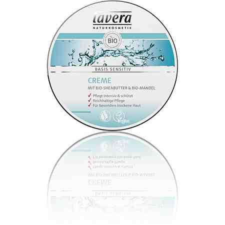 Lavera, »basis sensitiv«, Creme für Körper und Gesicht