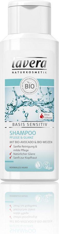 Lavera, »basis sensitiv«, Shampoo