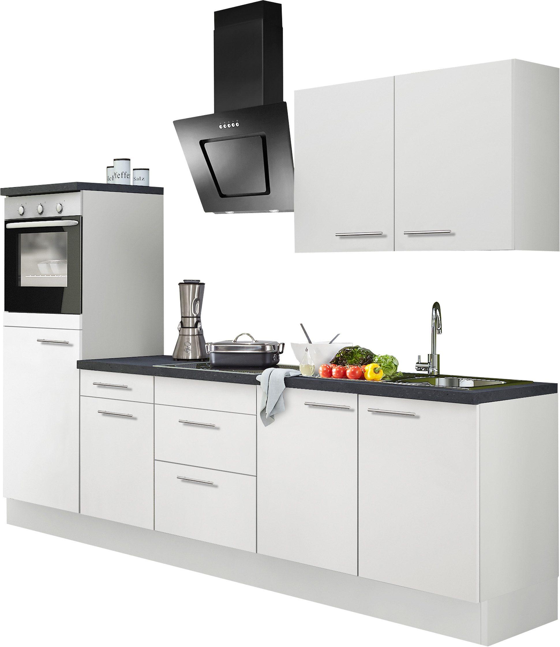 Küchenzeile mit e geräten, optifit, »mats«, breite 270 cm online ...