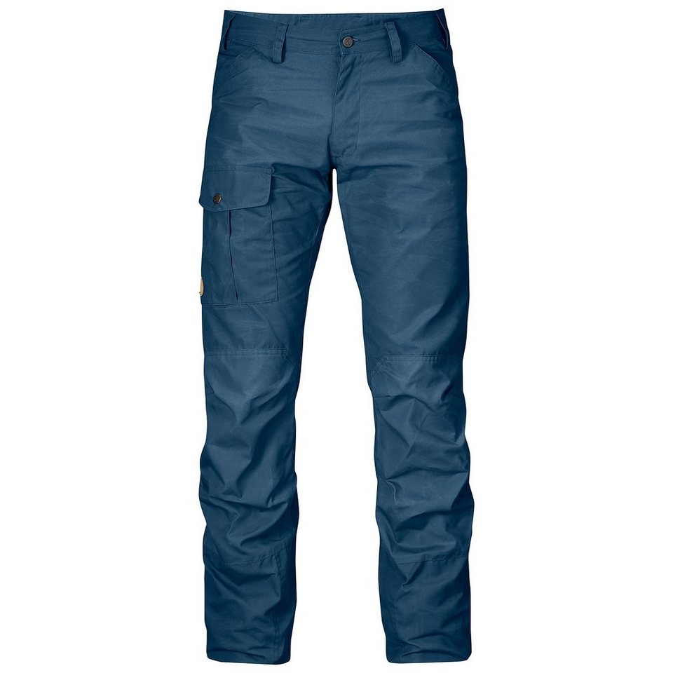 Fjällräven Outdoorhose »Nils Trousers Men« in blau