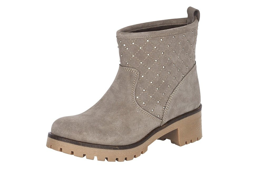Stiefelette in sand