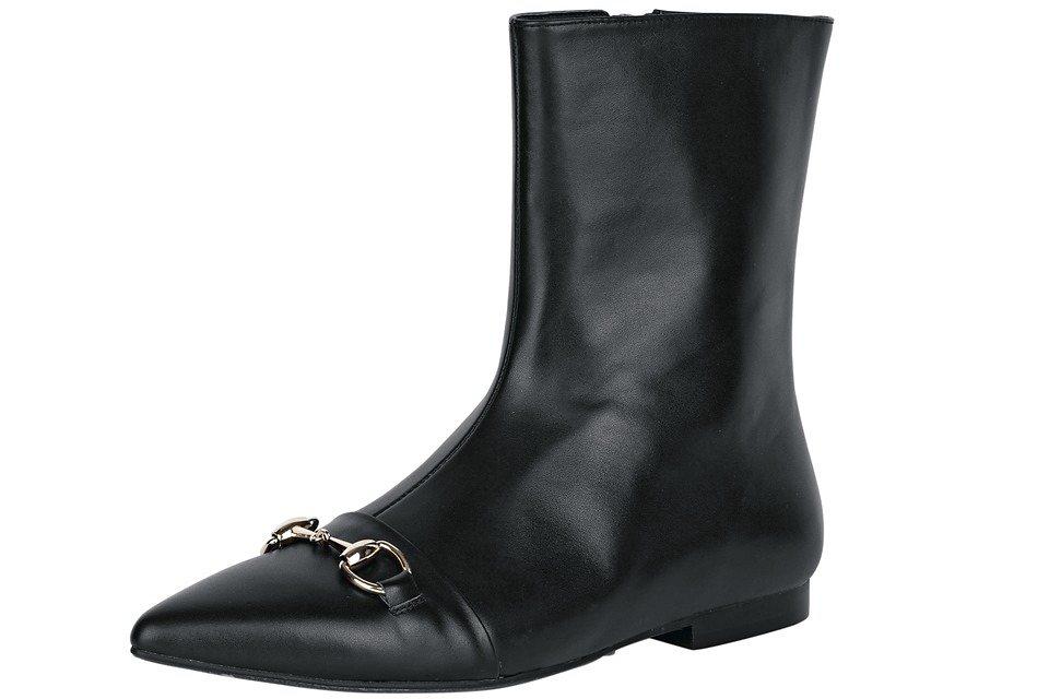 Heine Stiefelette in schwarz