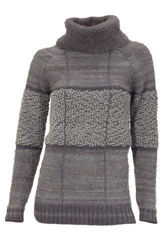 CASUAL пуловер с Effektgarn