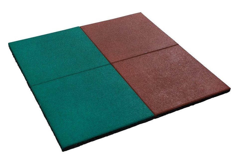 Fallschutzmatten 2er Set, grün