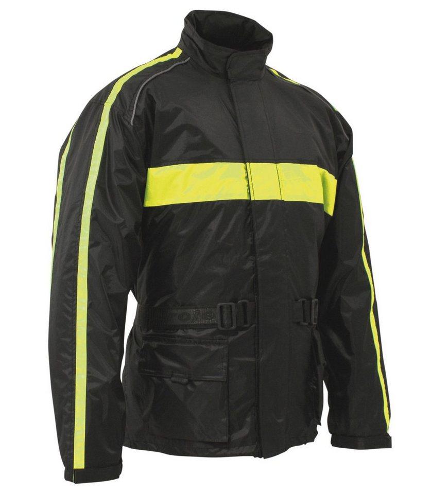 Roleff Regenjacke in gelb/schwarz