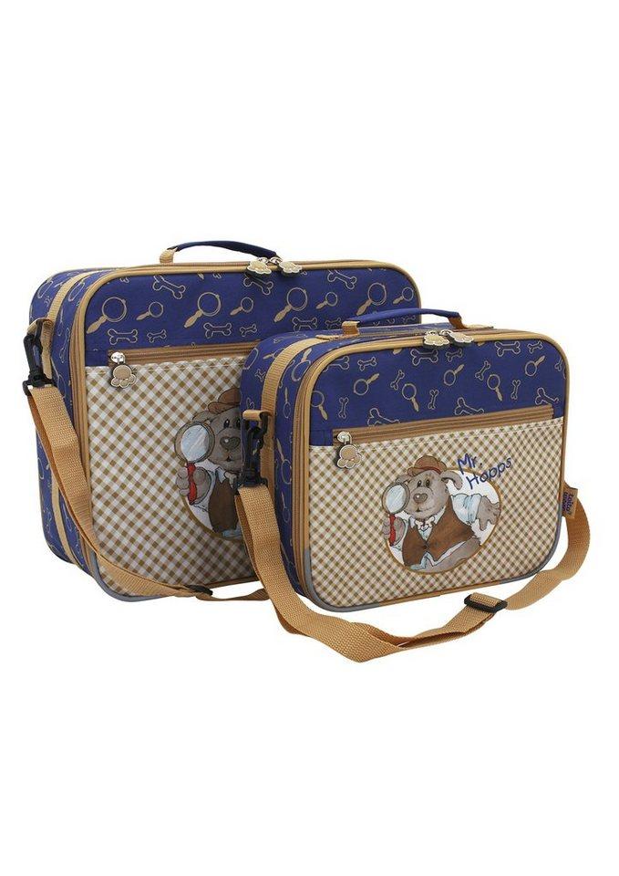 Set Kinderkoffer, »Mr. Hopps«, toito wear® (2tlg.) in braun-blau