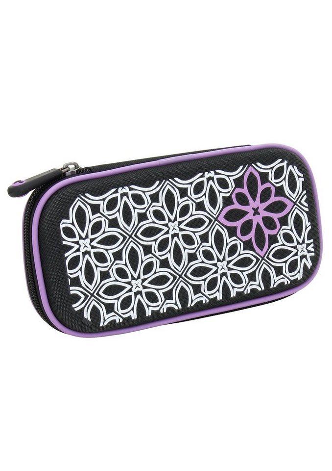 Mäppchen, »Stifteetui Floral«, toito wear® in schwarz-lila