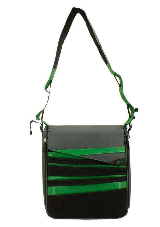 Umhängetasche, »Urban Survival - Allrounder«, F23 in schwarz-grün