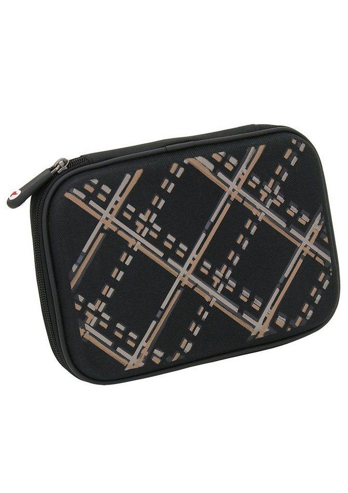 Mäppchen, »Hardbox Checky«, toito wear® in schwarz
