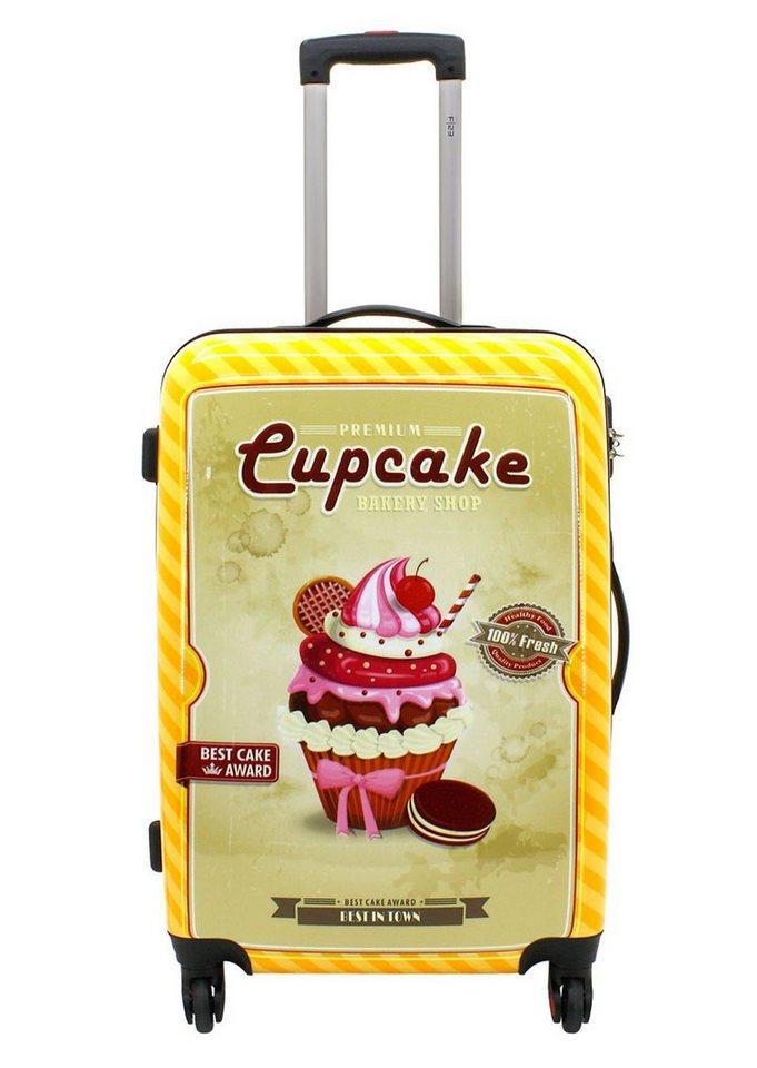 F23™, Trolley mit 4 Twisterrollen, »Cupcake« in bunt