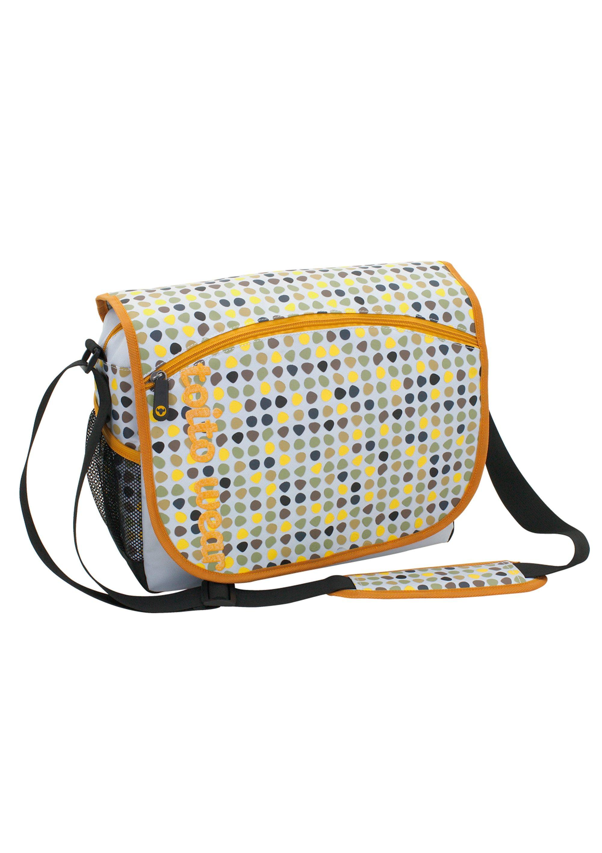 Umhängetasche mit Laptopfach, »Mosaik«, toito wear®