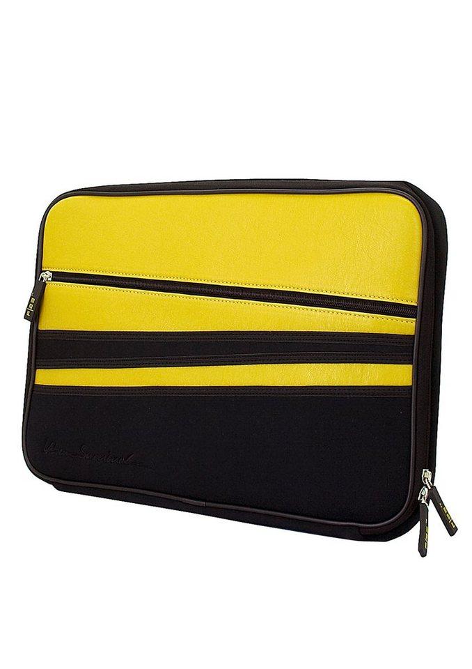 Laptop-Tasche, »Urban Survival - Server«, F23™ in schwarz-gelb