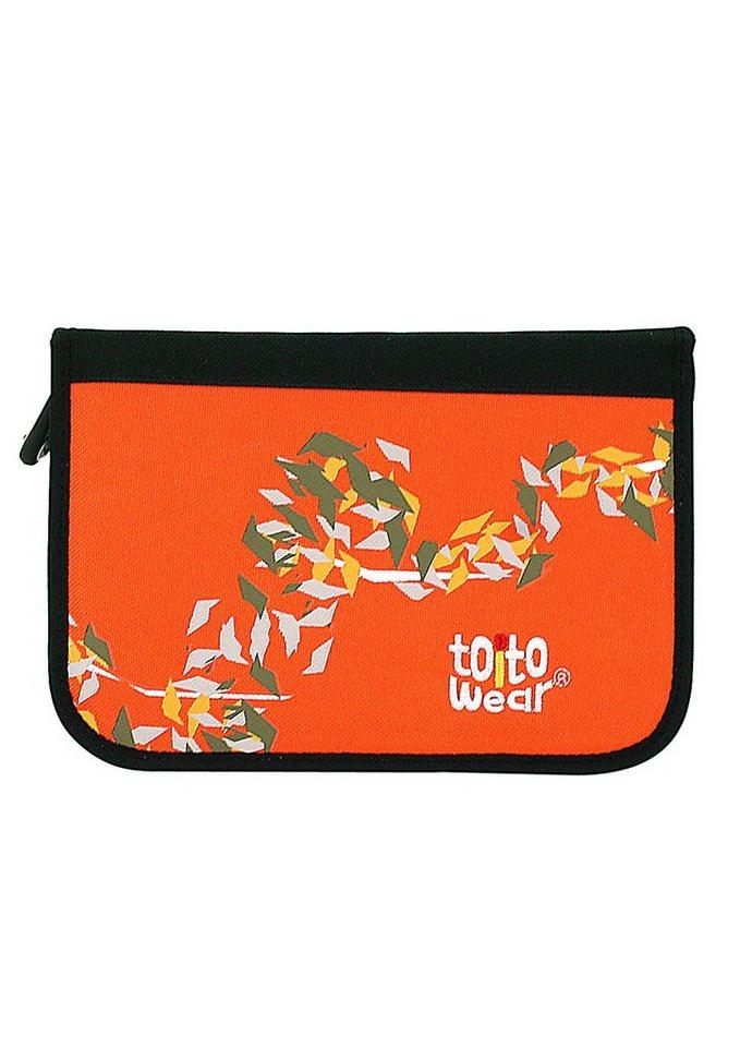 Federmäppchen gefüllt, »Sahara«, toito wear® in orange