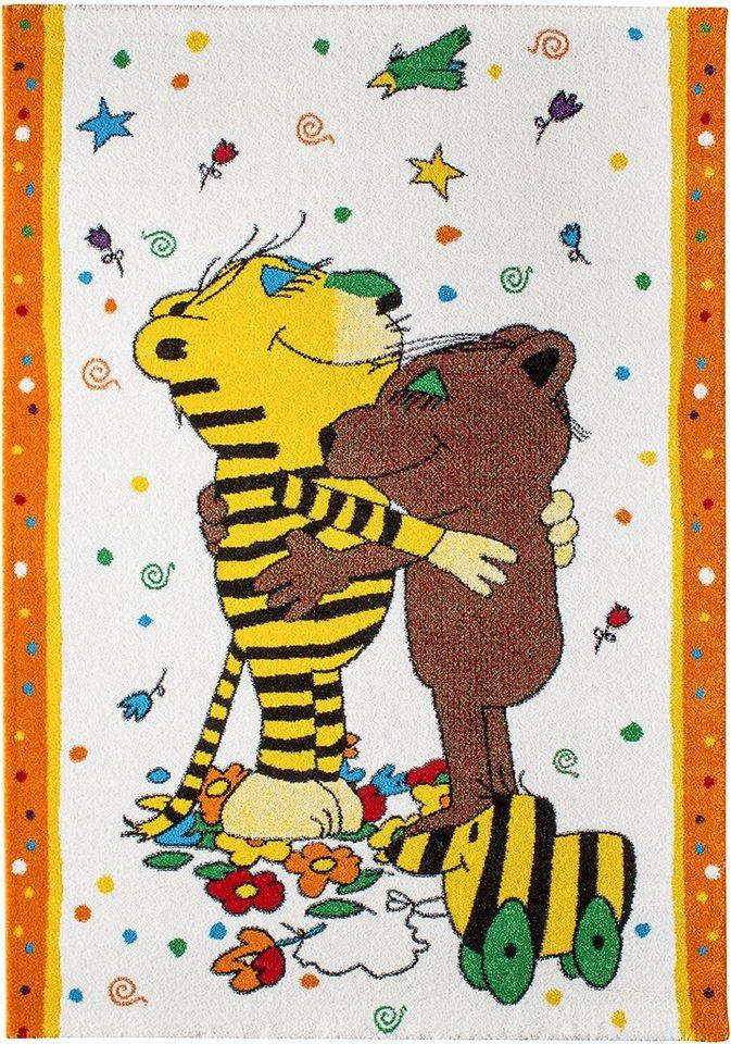 Kinder-Teppich, Janosch, »Ich mag dich« in creme