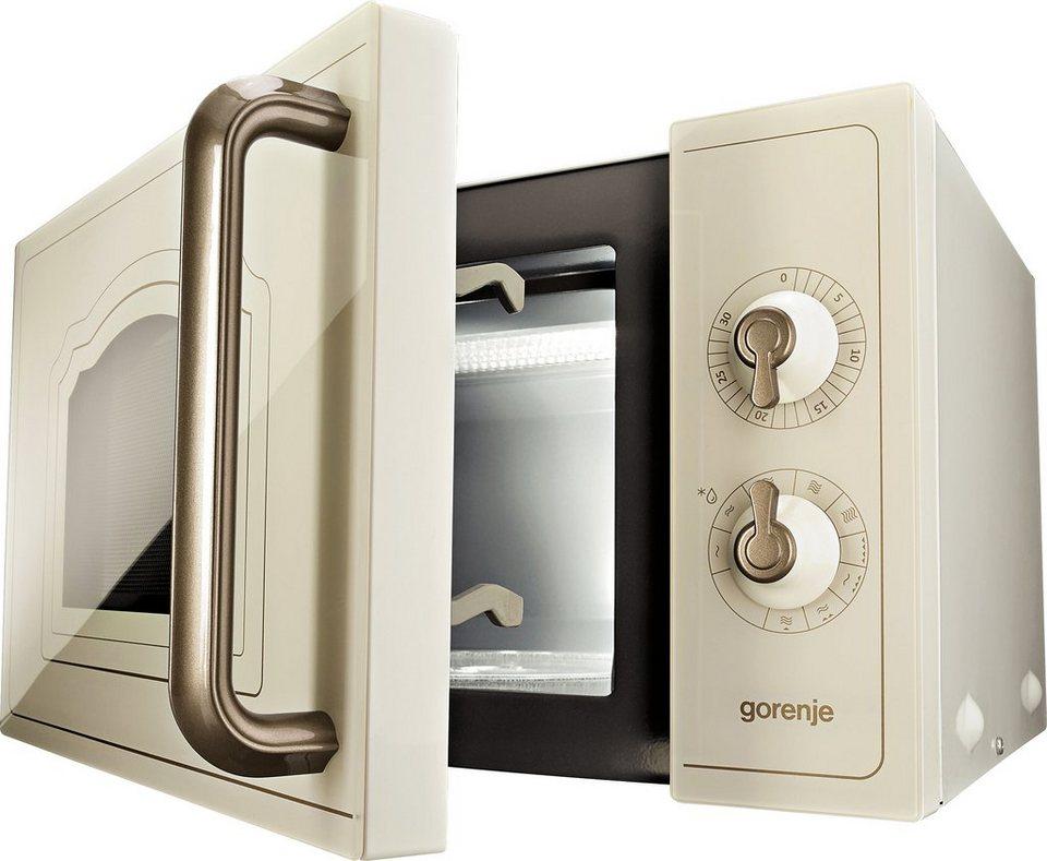 gorenje mikrowelle mo4250cli mit grill 20 liter garraum 700 watt online kaufen otto. Black Bedroom Furniture Sets. Home Design Ideas