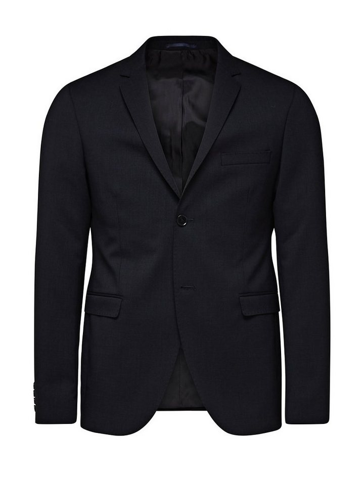 Jack & Jones Klassische Wolle Blazer in Dark Navy