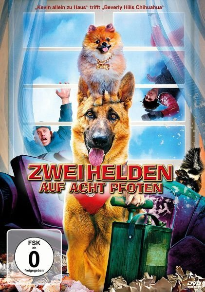 DVD »Zwei Helden auf acht Pfoten«