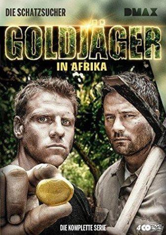 DVD »Die Schatzsucher - Goldjäger in Afrika - Die...«