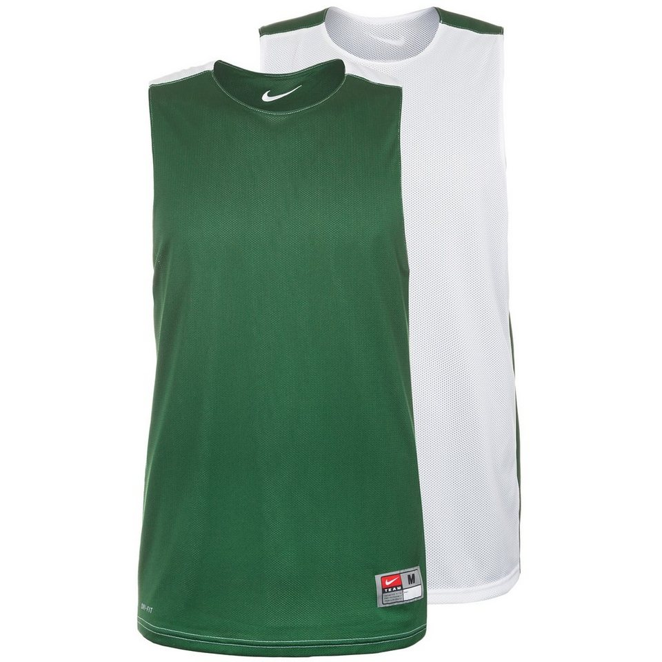 NIKE League Reversible Practice Basketballtrikot Herren in grün / weiß